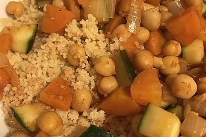 Couscous mit würzigem Kichererbsen-Stew 7