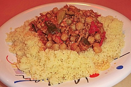 Couscous mit würzigem Kichererbsen-Stew 6