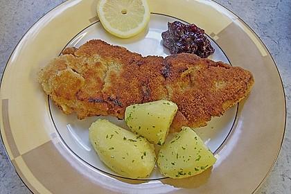 Wiener Schnitzel mit Petersilienkartoffeln (Bild)