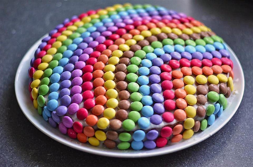 Smarties Kuchen Von Letta22 Chefkoch De