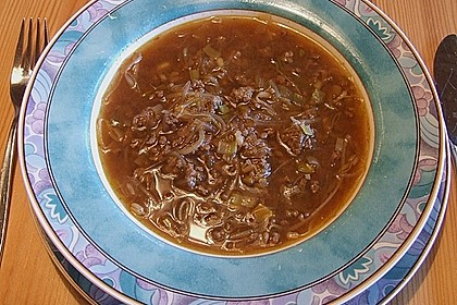 Asia-Nudelsuppe
