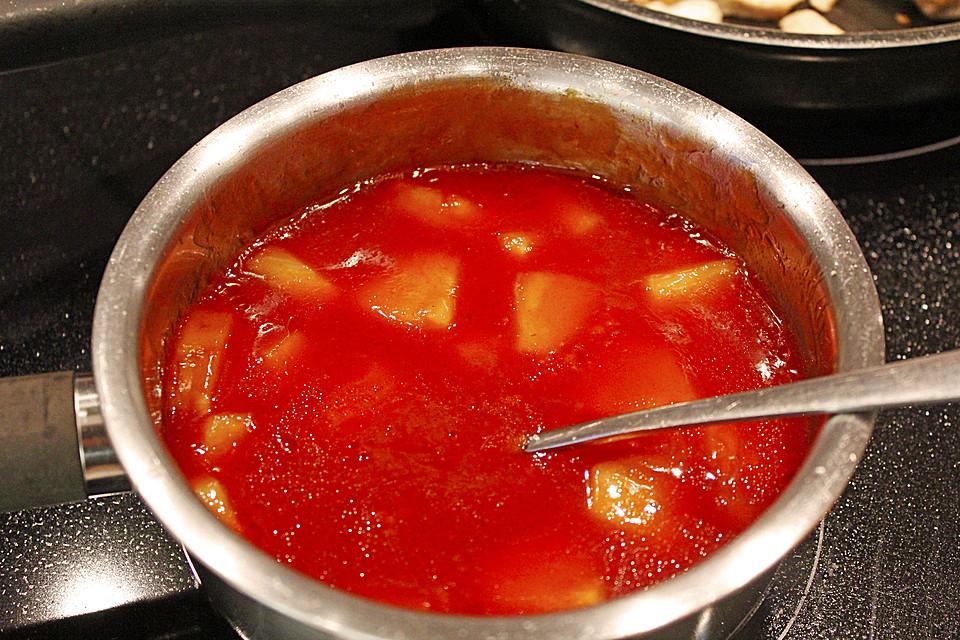 Süß Saure Soße Von Ironlotus Chefkoch