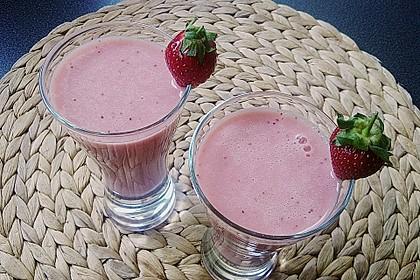 Erdbeer Smoothie, mal anders