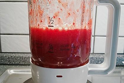 Erdbeer Smoothie, mal anders 3