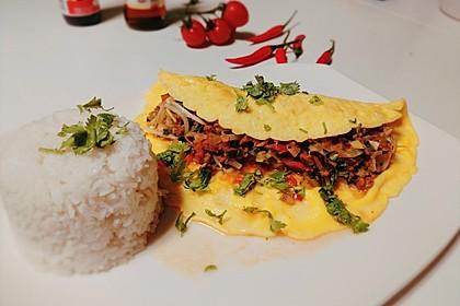 Gefülltes Thai-Omelette 1