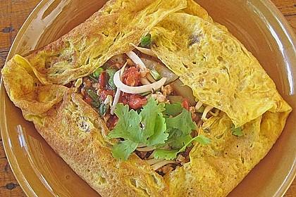 Gefülltes Thai-Omelette 2
