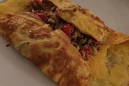 Gefülltes Thai-Omelette 8