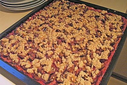 Omas Streusel - Zwetschgenkuchen mit Mürbteig 7