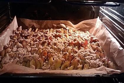 Omas Streusel - Zwetschgenkuchen mit Mürbteig 8