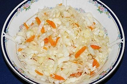 Schnelles selbst gemachtes Sauerkraut nach russischer Art