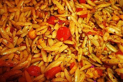 Nudelsalat griechische Art 2