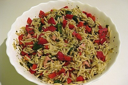 Nudelsalat griechische Art 1