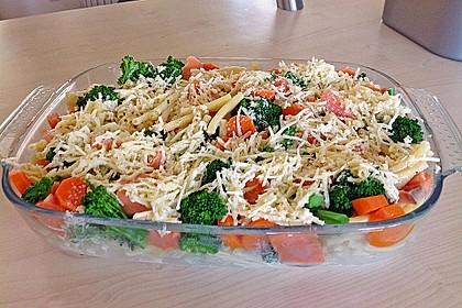 Nudel - Lachs - Auflauf mit Brokkoli 10