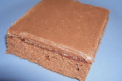 Brownies mit cremigem Icing