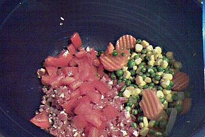 Nudel - Schinken - Muffins mit Gemüse 3