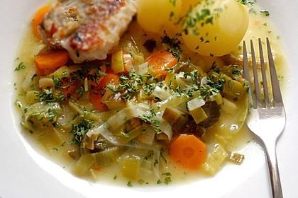 Karotten - Lauch - Gemüse à la crème (Bild)