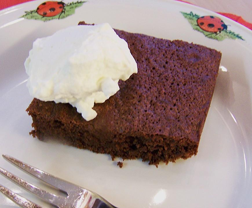 Saftiger Schokoladenkuchen Vom Blech Von Kristalla Chefkoch De