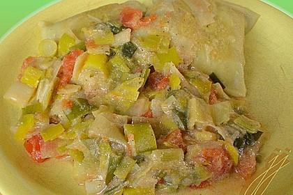 Maultaschen mit Lauch - Tomaten - Gemüse 9
