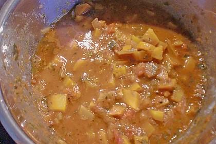 Maultaschen mit Lauch - Tomaten - Gemüse 14