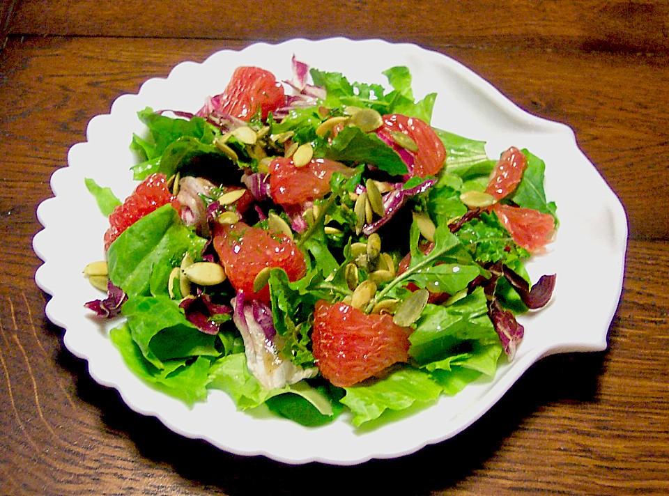 Fruchtiger Blattsalat Von Chaosqueen3011 Chefkoch