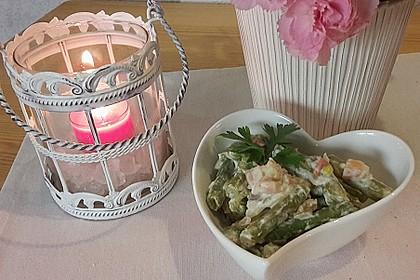 Bohnensalat mit saurer Sahne und Speck 12