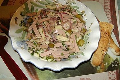 Bayerischer Wurstsalat 5