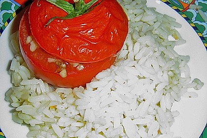 Gebackene Hackfleisch - Tomaten 1