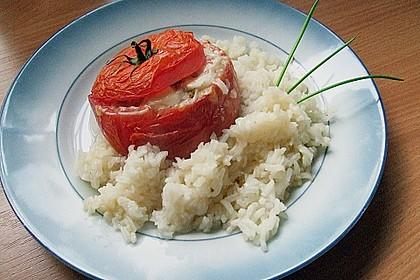 Gebackene Hackfleisch - Tomaten