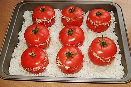 Gebackene Hackfleisch - Tomaten 2