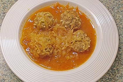 Ungarische Takart mit Sauerkraut 5