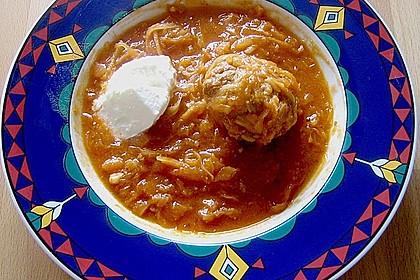 Ungarische Takart mit Sauerkraut 4