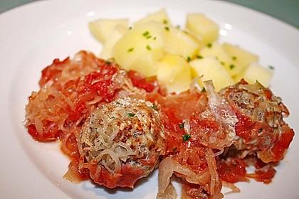 Ungarische Takart mit Sauerkraut 3