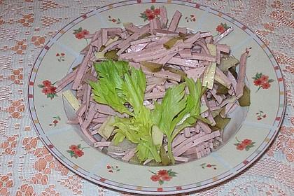 Bayerischer Wurstsalat 1