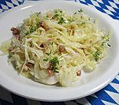 Bayrischer Krautsalat mit Speck (Bild)