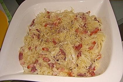 Bayrischer Krautsalat mit Speck 14