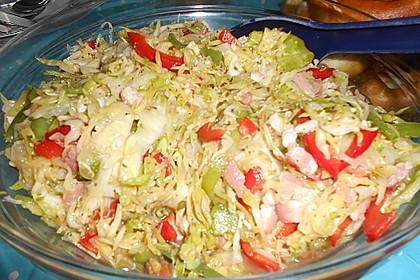 Bayrischer Krautsalat mit Speck 15