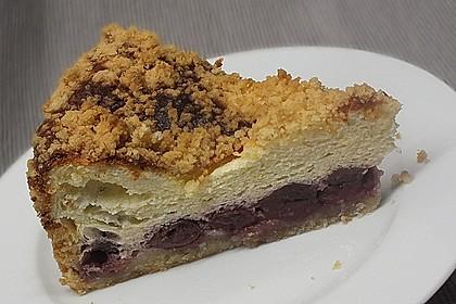 Kirsch - Quark - Kuchen