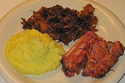 Schweinekrustenbraten auf Sauerkraut 10