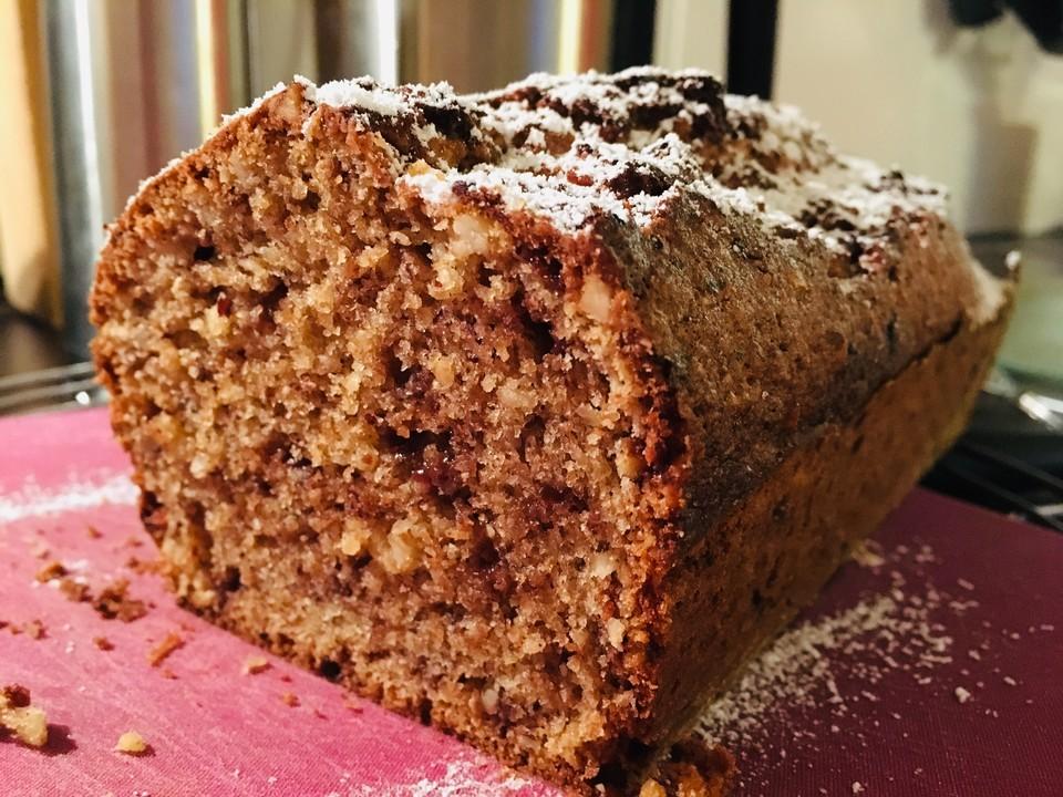 Saftiger Schokoladen Nuss Kuchen Von Zwetschgennudel Chefkoch De