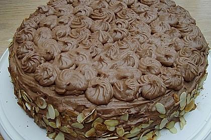 Nougat - Orangencreme - Torte 12