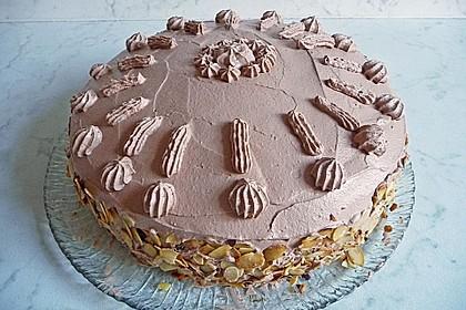 Nougat - Orangencreme - Torte 1