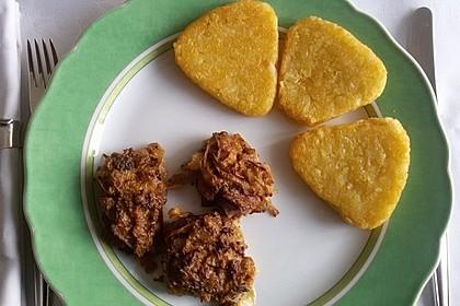 Überbackenes Schweinefilet mit Zwiebel - Senf - Kruste 7