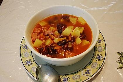 Bohnensuppe 2