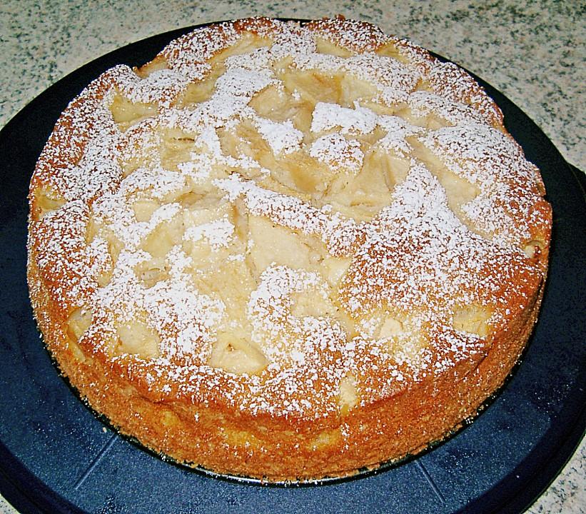 Apfel Eierlikor Kuchen Von Nici77 Chefkoch De