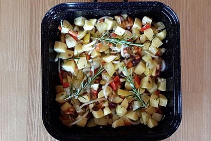 Kartoffel - Paprika - Gratin 1