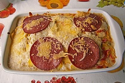 Kartoffel - Paprika - Gratin 6