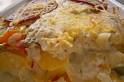 Kartoffel - Paprika - Gratin 11