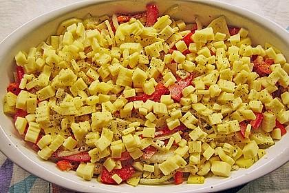 Kartoffel - Paprika - Gratin 13