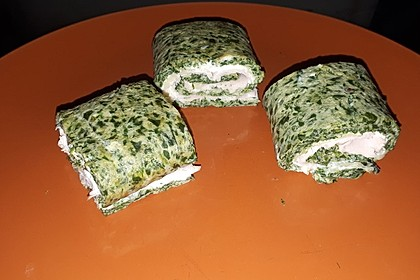 Spinat - Lachs - Rolle 9