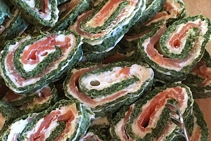 Spinat - Lachs - Rolle 7